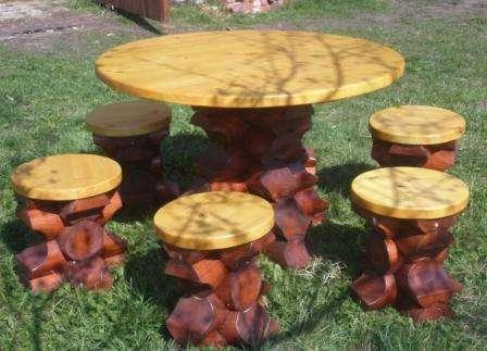 фото мебели для сада своими руками