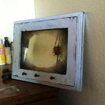 Как сделать рамку для зеркала своими руками. Винтажный стиль