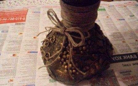 Пришло время, наконец, соединить чашу вазы с ножкой!
