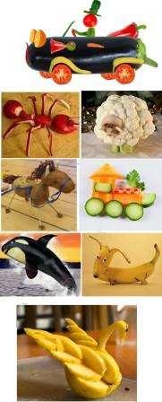 Несмотря на то, что из фруктов можно создать настоящие скульптуры своими руками, хранятся такие поделки недолго. Научиться вырезать фигурные изделия из фруктов может каждый, главное – освоить азы карвинга.