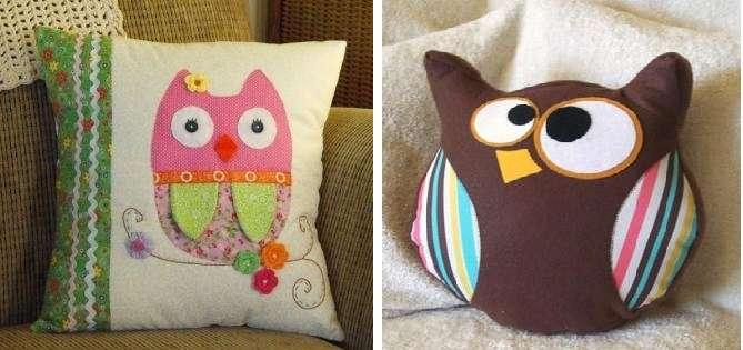 Декоративная подушка сова поможет создать веселое настроение в интерьере гостиной, спальни или детской. Любителям сов такая подушка однозначно придётся по душе.