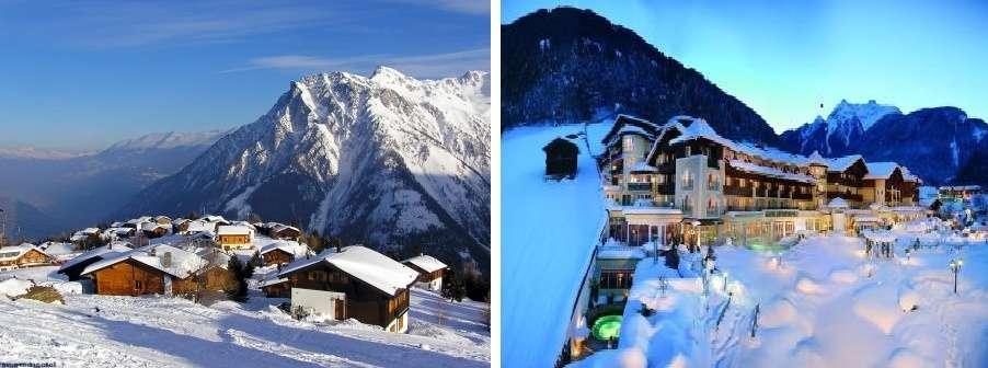 Если говорить о качестве и комфорте, то зимний отдых лучше всего провести в Швейцарии. В этой стране Ваше время будет лететь поистине незаметно, так как помимо горнолыжных курортов туристам предлагают интереснейшие экскурсионные программы, прогулки по знаменитым местам, осмотр достопримечательностей.