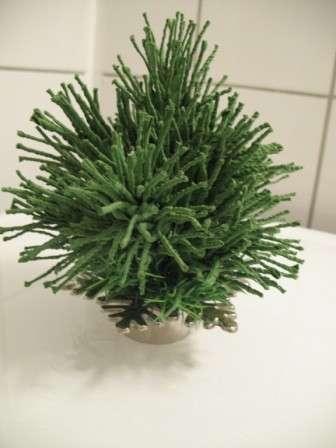 Делаем сосну или елку из фоамирана. Мастер-класс
