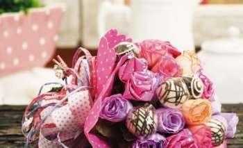 Сладкие букеты из конфет своими руками