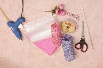 инструменты для изготовления букетов из конфет