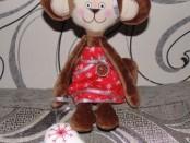 Мягкая игрушка обезьянка своими руками, Выкройки