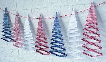 новогодние украшения своими руками из бумаги схемы