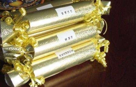 Великолепная идея для символического поздравления знакомых и близких с зимними праздниками