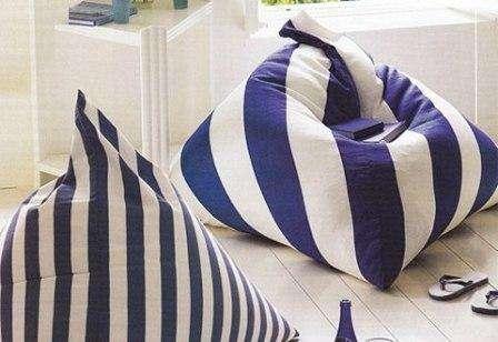 Подушка - пуф напольная
