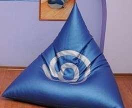 треугольная напольная подушка своими руками