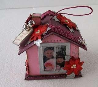 Подарок на ёлку для всей семьи «Новогодний домик»