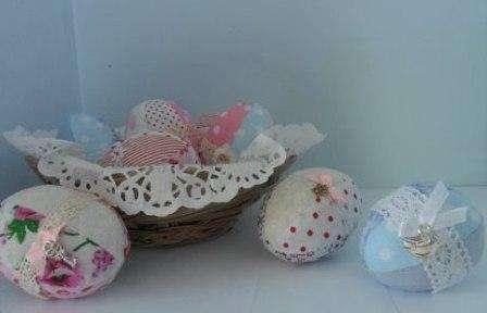 Как сшить яйцо из ткани