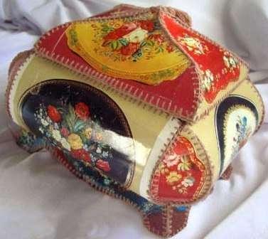 Шкатулка из открыток своими руками, схема изготовления