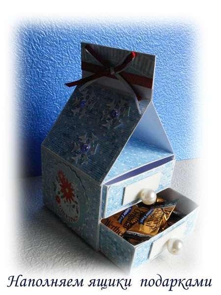 А для того чтобы маме немного подсластить душу – заполните свою шкатулку конфетами!