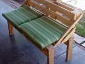 Скамейка из поддонов своими руками, фото МК
