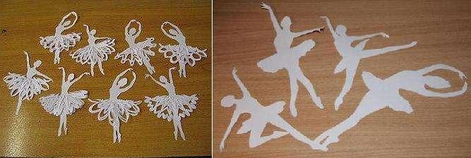 Итак, какие же материалы нам понадобятся, чтобы воссоздать танцующие снежинки - балерины?