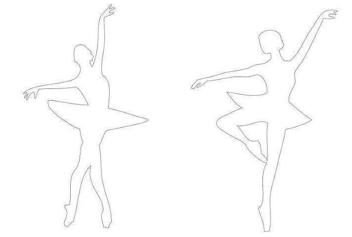 схема снежинки балерины