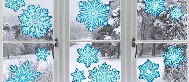 Новогодние поделки - снежинки из бумаги, мастер класс