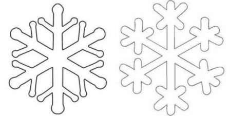 Как нужно сделать снежинки