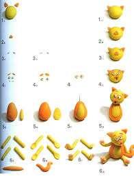 Лепка из пластилина поможет вашему ребёнку проявлять творческие способности. Со временем он научится делать более сложные фигуры своими руками.