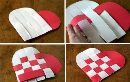 Каждую из получившихся заготовок нужно обрезать так, чтобы края были полукруглые. Затем делайте надрезы от линии сгиба к закруглённому краю.