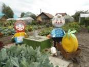 Дачные поделки своими руками для украшения сада. Фото