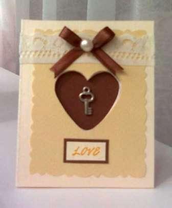Открытка с ключиком от вашего сердца поможет вашей возлюбленной подготовиться к следующему ответственному шагу с вашей стороны