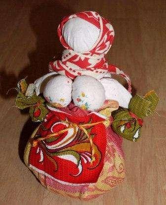Кукла оберег кубышка травница, мастер класс