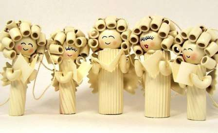 Игрушки на ёлку своими руками из макарон