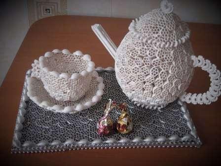 И даже вот ТАКАЯ чайная композиция: