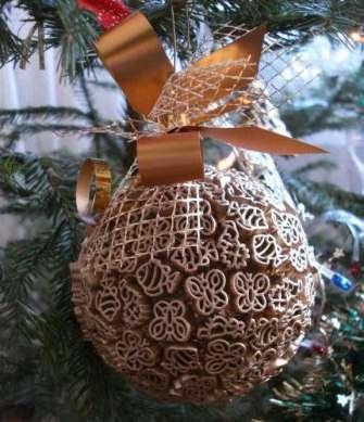 Вот и вся работа – ничего сложного, только внимание, усердие и желание и Ваша новогодняя поделка своими руками готова!