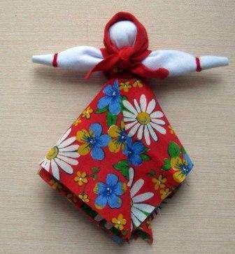 Славянские куклы. Делаем оберег на счастье 56