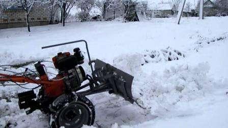 Как из мотоблока сделать снегоуборщик