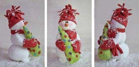Ёлка уже есть, давайте её украсим «игрушками» и, тем самым, придадим ей праздничности и настроения