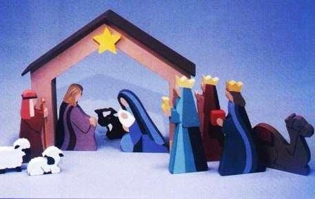 Поделки к Рождеству Христову своими руками: Вертеп