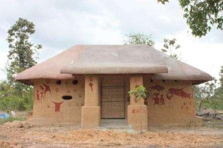 Особенности строительства саманного дома. Видео