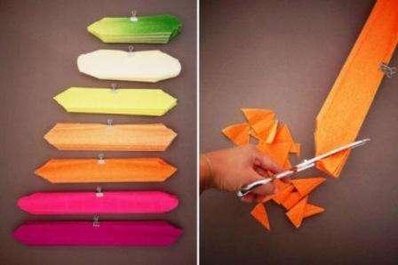 После того как вы укоротили каждый листик, обрежьте его с каждого края так, чтобы получились слегка острые края.