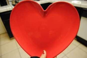 Вам очень повезет, если вам под руку попадется вот такая заготовка в виде сердца: