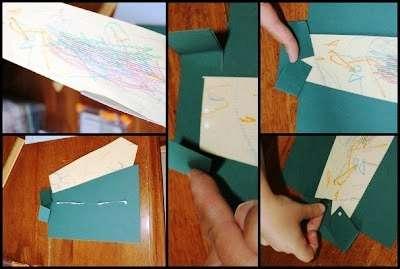 Отдельно на другом листе бумаги вырежьте по шаблону галстук. Вы можете доверить маленькому ребенку разукрашивание галстука, а потом приклеить его под воротник.