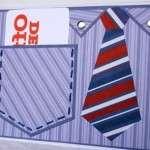 Рубашка из бумаги с галстуком своими руками