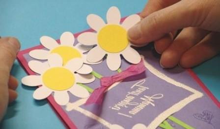 Цветочки своими руками мастер класс фото 809