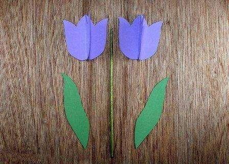 Если хотите чтобы стебелек хорошо держал бутон, возьмите деревянную шпажку, обмотайте её флористической лентой или покрасьте зеленой краской.