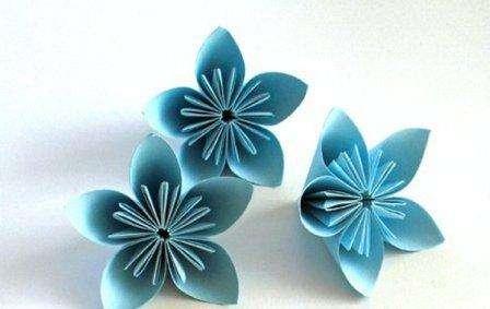 Кусудама для начинающих: мастер класс изготовление цветка