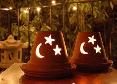 Изготавливаем романтический светильник на подарок