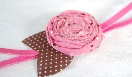 Простой пошаговый мастер-класс: тканевые цветы