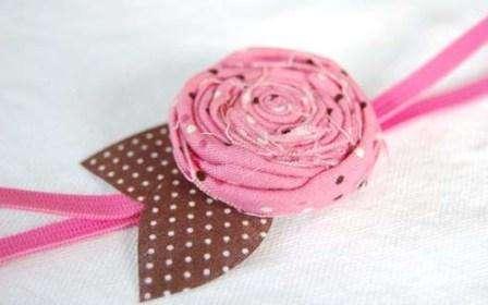 Простой пошаговый мастер-класс: тканевые цветы - розы
