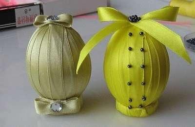 Декор яиц к пасхе своими руками, фото идеи украшений