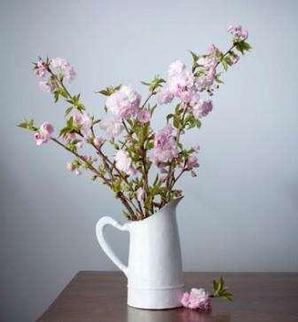 К сожалению, перед Пасхой еще не бывает так много цветов, как хотелось бы.