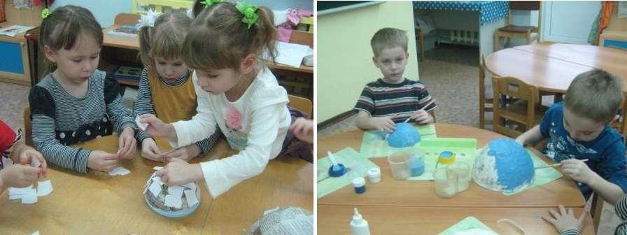 Поделки с ребенком из папье-маше