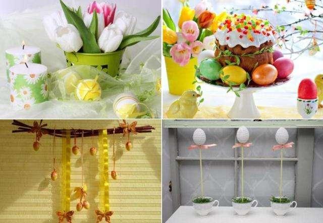 Украшаем подоконник пасхальным декором